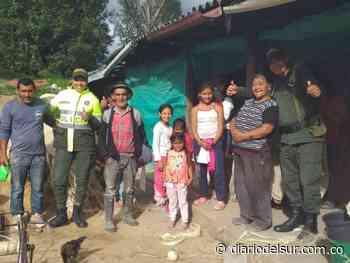 Donan ropa y calzado a los más vulnerables de Imués - Diario del Sur