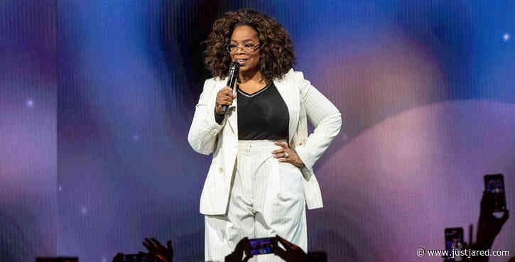 Oprah Winfrey Falls On Stage While Talking About Balance