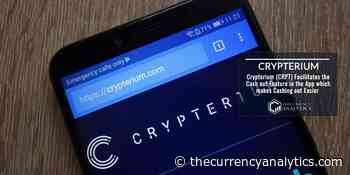 Crypterium (CRPT) Facilitates the Cash out Feature in the App which makes Cashing out Easier - The Cryptocurrency Analytics