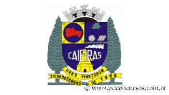 Iprem do município Caieiras - SP divulga cancelamento de Concurso Público - PCI Concursos