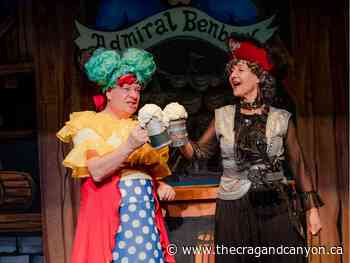 Director tips conventional casting of Treasure Island panto on its ear - The Crag and Canyon