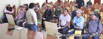 """Ayuntamiento de Santiago Tuxtla y SEGALMEX dan a conocer el programa """"Precio de Garantía a la Semilla"""" - Diario Eyipantla"""