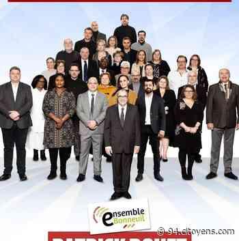 Municipales 2020 à Bonneuil-sur-Marne: la liste de Patrick Douet - 94 Citoyens
