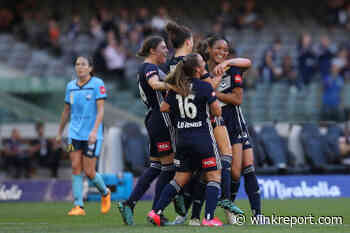Victory seal W-League second spot with win over Sydney - Wink Report