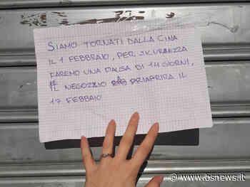 🔴 Panico da Coronavirus a Roncadelle per il cartello di un negozio - Bsnews.it