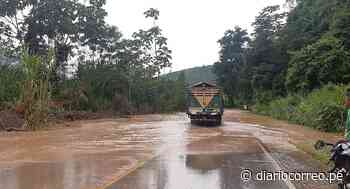 Desborde del río Perené inunda dos tramos de la carretera marginal (VIDEO) - Diario Correo