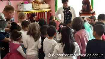 Il riciclo insegnato ai bambini della materna comunale a Ostiglia - Gazzetta di Mantova