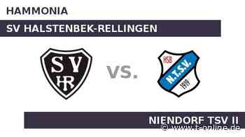 SV Halstenbek-Rellingen gegen Niendorf TSV II: Niendorf TSV II vor schwieriger Aufgabe - t-online.de