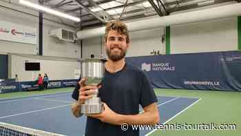 Cressy Crowned Drummondville Challenger Champion - Tennis TourTalk