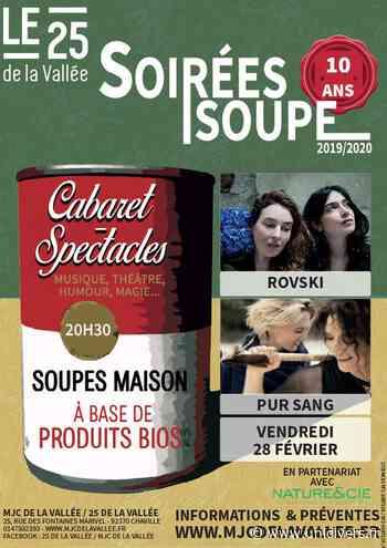 Soirée soupe avec Rovski et Pur Sang 25 de la Vallée Chaville 28 février 2020 - Unidivers