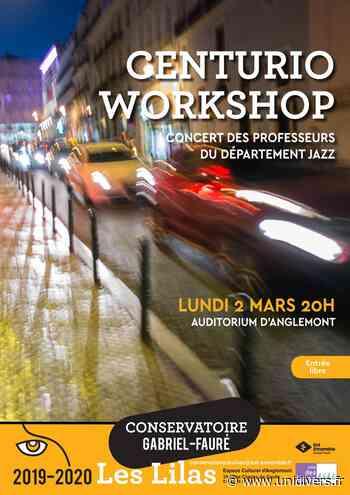 Centurio Workshop Conservatoire Gabriel Fauré Les Lilas 2 mars 2020 - Unidivers