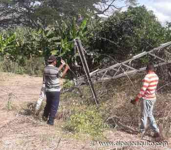 Ocumare de la Costa sin electricidad por caída de línea de alta tensión - El Periodiquito