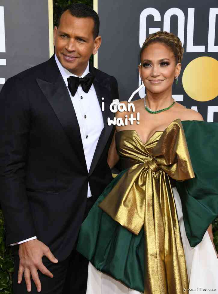Jennifer Lopez & Alex Rodriguez Are In Zero 'Rush' To Get Married Anytime Soon