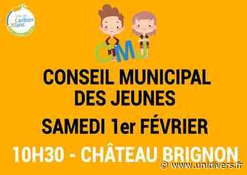 Conseil Municipal des Jeunes Château Brignon Carbon-Blanc 1 février 2020 - Unidivers