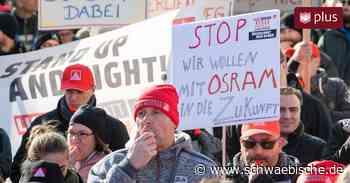 Osram-Werk Herbrechtingen droht die Entlassung von mehr als 300 Mitarbeitern - Schwäbische