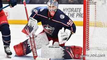Rookie watch: Merzlikins best among first-year goalies, Weekes says - NHL.com