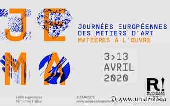 12ème SALON DES METIERS D'ART de Montbazon Espace Atout Coeur Montbazon 10 avril 2020 - Unidivers