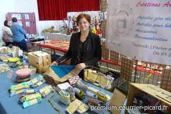 Les créatrices locales ont montré leur talent à Villers-Bretonneux - Courrier picard