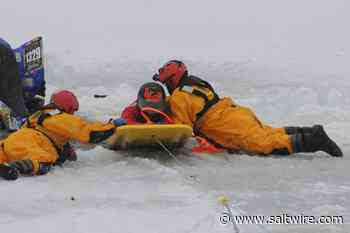 Staged rescue of man, ATV submerged in water in Conception Bay South - SaltWire Network