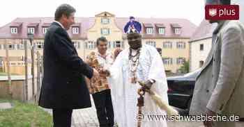 Als der König von Benin nach Lauchheim kam - Schwäbische
