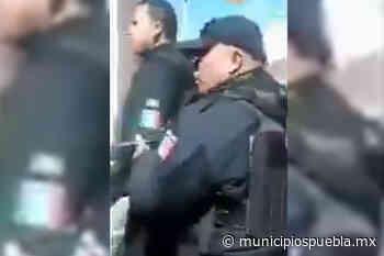 Policías presuntamente ebrios protagonizan altercado en Acajete - Municipios Puebla