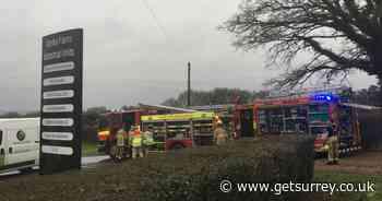 'Suspected arson' at stables fire in Dormansland - recap - Surrey Live