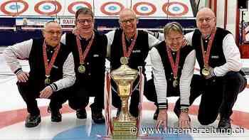 Luzerner Curling-Senioren holen den Meistertitel | Luzerner Zeitung - Luzerner Zeitung