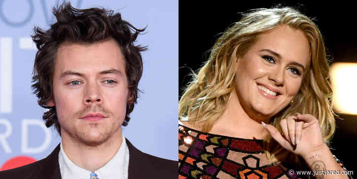 Harry Styles Answers This Adele Question After the Two Vacationed Together