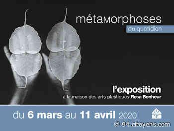 Exposition à la Maisons des arts plastiques Rosa Bonheur de Chevilly-Larue - 94 Citoyens