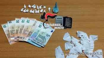 Dosi di cocaina nel cruscotto e nelle tasche del giubbino: arrestato - BrindisiReport