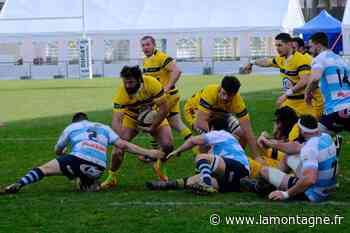 Les rugbymen du RC Vichy accueillent Arpajon, ce dimanche - La Montagne