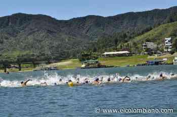179 deportistas compiten en el Nacional de aguas abiertas en Guatapé - El Colombiano