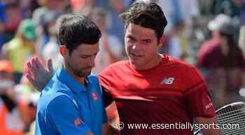 """Novak Djokovic Makes the Court Feel Smaller"" – Milos Raonic - Essentially Sports"
