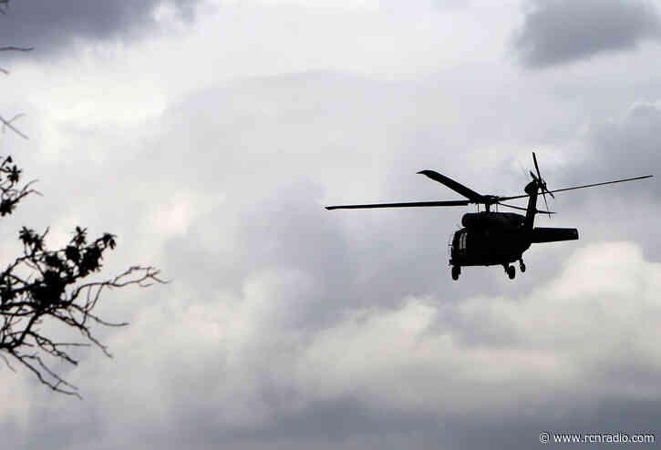 Helicóptero cayó en zona rural de Bojacá, Cundinamarca y dejó varios muertos - RCN Radio