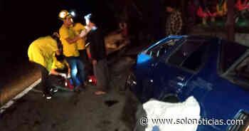 Mujer muere luego de ser arrollada por un automovilista en Apastepeque - Solo Noticias El Salvador