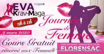 FLORENSAC - Stage gratuit spécial Femmes au Club EVA KRAV-MAGA le 9 mars à 19h - Hérault-Tribune