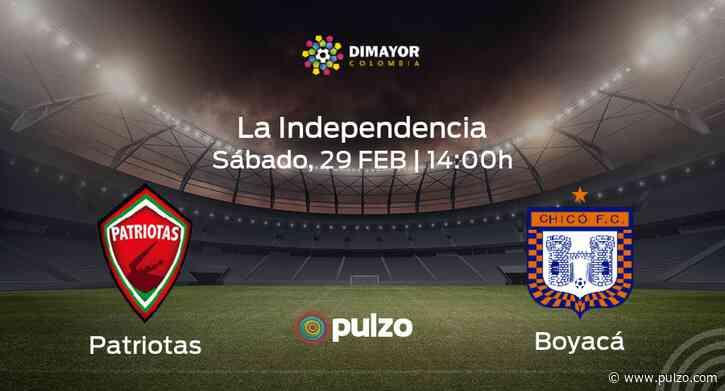 Previa del encuentro: Patriotas Boyacá - Boyacá Chicó FC - Pulzo