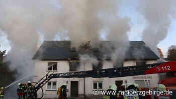 Großbrand in Mulda - Radio Erzgebirge