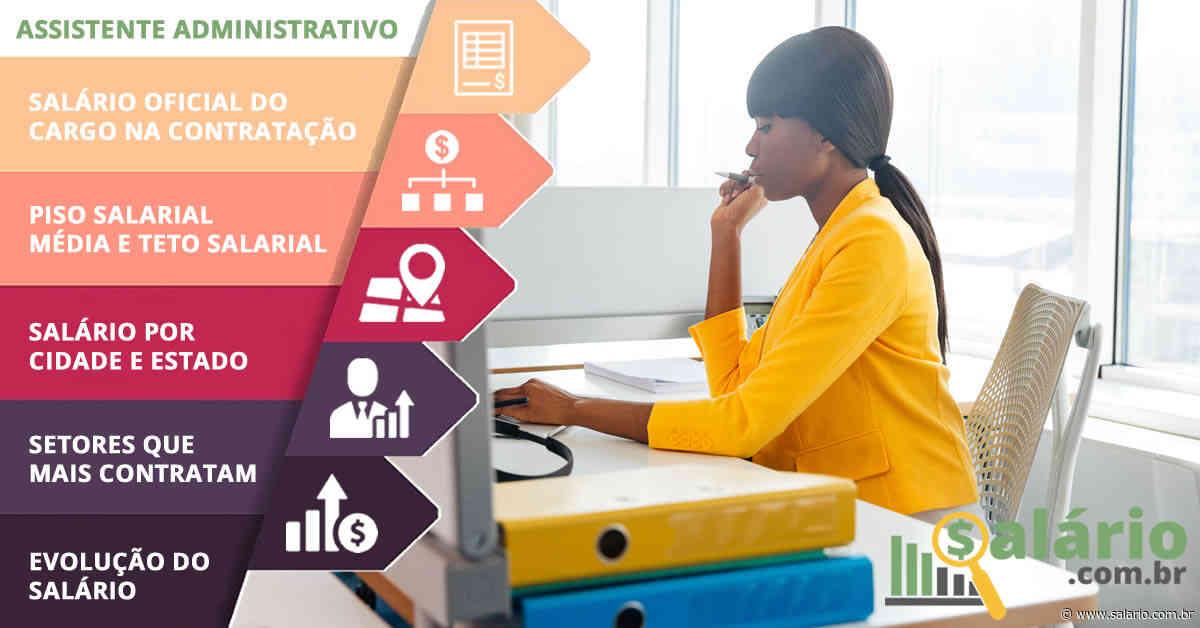 Assistente Administrativo - Salário 2020 - Almirante Tamandare, PR - salario.com.br