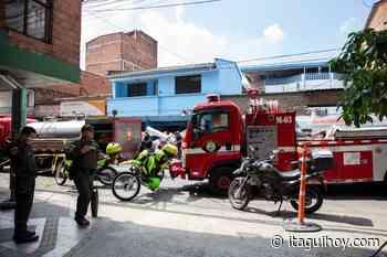 Con apoyo de La Estrella y Sabaneta, Bomberos Itagüí logra controlar incendio en el municipio - Itagüí Hoy