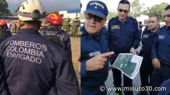 En Fotos: Bomberos de Envigado y Sabaneta se encuentran apoyando la búsqueda de seis desaparecidos en Pie ... - Minuto30.com