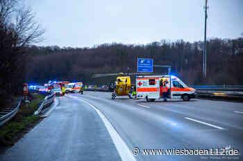 Verkehrsunfall A3 bei Niedernhausen – 32 Jährige Fahrerin verstirbt - Wiesbaden112.de