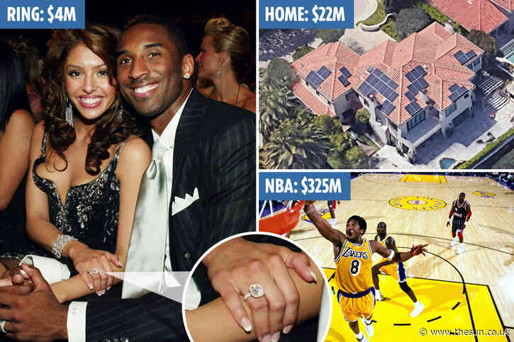 How Lakers legend Kobe Bryant amassed a $1 BILLION fortune before fatal helicopter crash