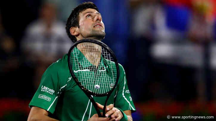 Novak Djokovic aware of Philipp Kohlschreiber upset threat in Dubai - Sporting News AU