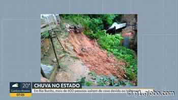 Chuva causa transtornos e deixa desabrigados em Silva Jardim, RJ - G1