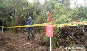 Policía herido tras pisar mina antipersona en el sur de Bolívar - Caracol Radio
