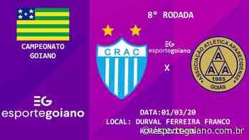 Em confronto direto pelo G-8, Crac e Aparecidense jogam em Ipameri - Esporte Goiano