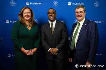 Principal DAS Lussenhop Honors Fulbright Top Producers and HBCU Institutional Leaders