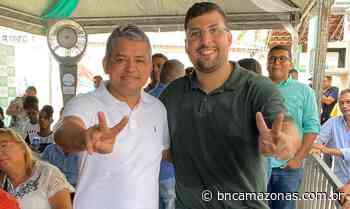 Robson Tiradentes filia-se ao PSC de Wilson Lima, em Coari - BNC Amazonas