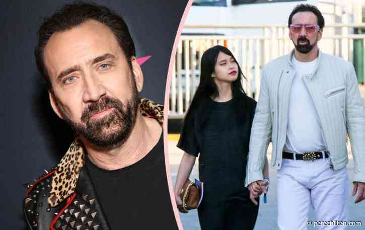 VOTE: Is Nicolas Cage's 26-Year-Old Girlfriend Too Young For Him??